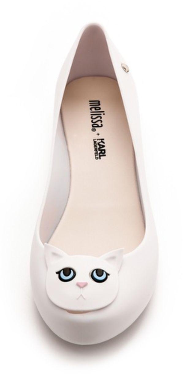 Melissa Karl Lagerfeld Ultragirl Cat Flats Melissa Shoes Cat Shoes Shoes