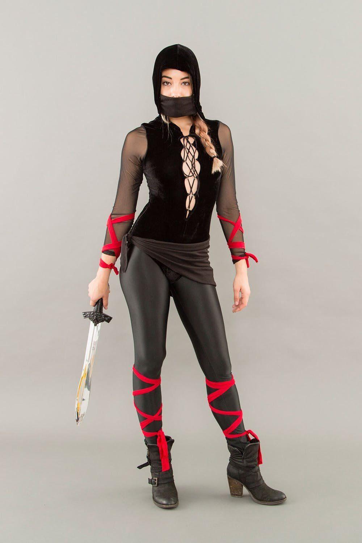 75 DIY Halloween Costume Ideas for Women Ninja halloween