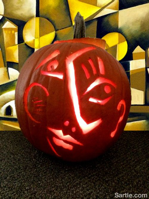 famous artists create never before seen jack o lanterns sartle rh pinterest com