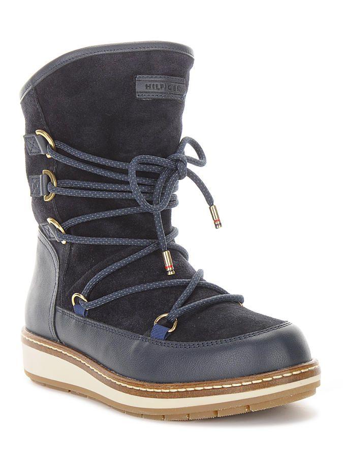 Sniegowce Tommy Hilfiger Wooli 6c1w Fw56820004403 Najlepsze Ceny Tylko W Sarafis Pl Boots Tommy Hilfiger Winter Boot
