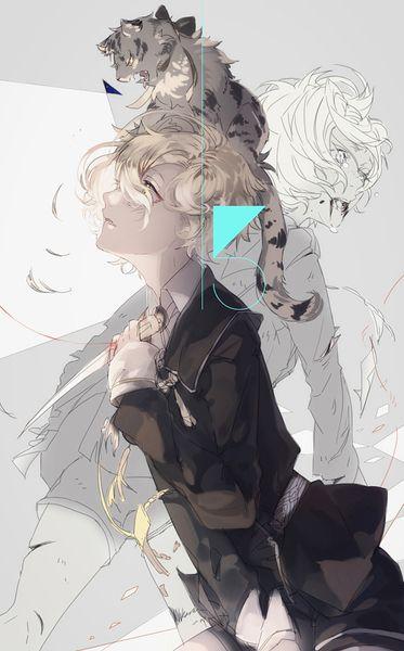 刀剣乱舞 藤四郎兄弟 에 있는 九狐尾澪音님의 핀 アニメイラスト