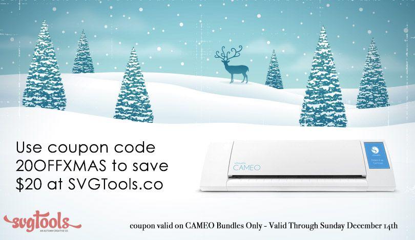 Save 20 On Cameo Bundles Through Sunday December 14th