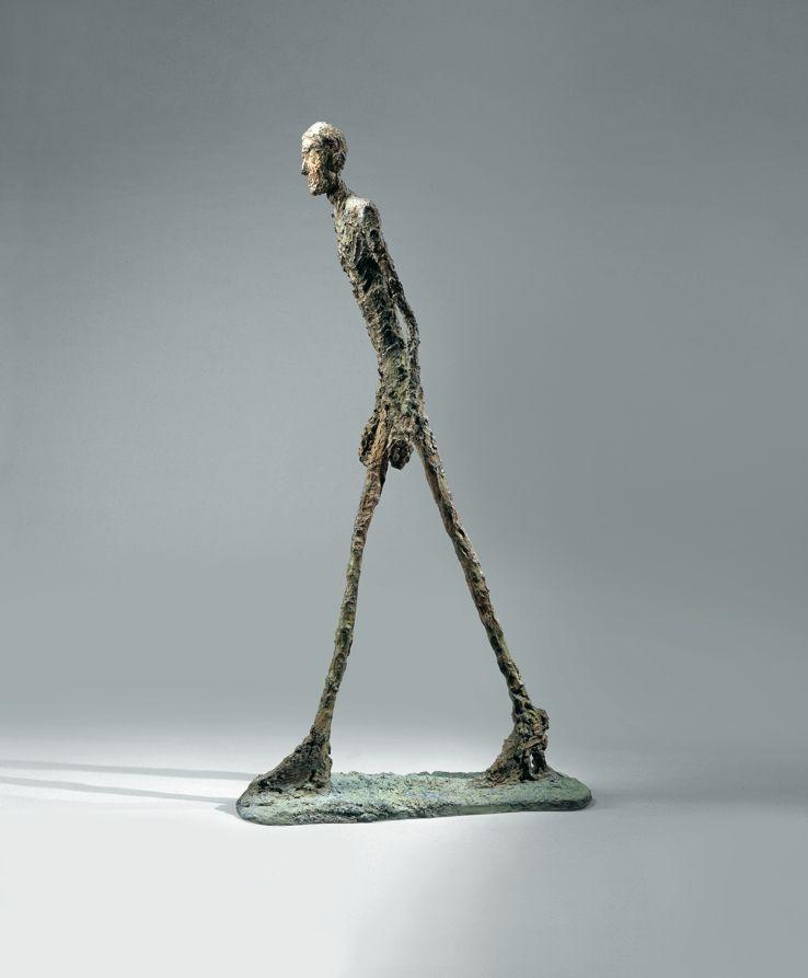 sculpture l'homme debout