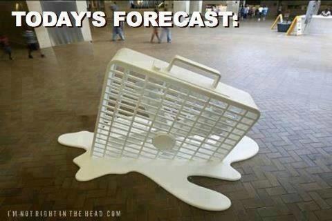 Hot Weather Box Fan Fan Todays Forecast