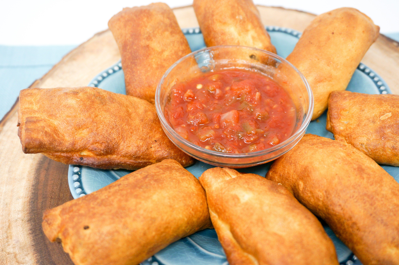 Air Fryer Cheesy Taco Crescents Recipe Granny's recipe