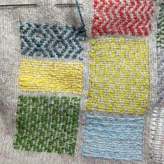 Visible mending by tomofholland. I love everything about this.