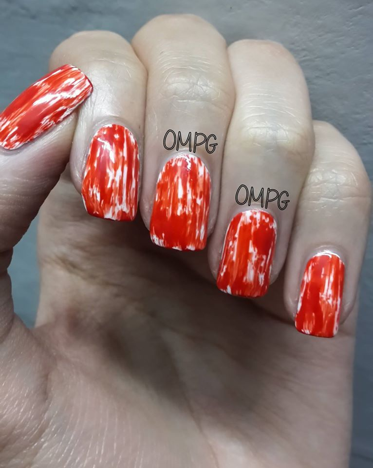After Scratching My Head For A Good Halloween Nail Art Thenailasaurus Com Came To My Rescue I Stole That Is Was I Halloween Nail Art Halloween Nails Nails