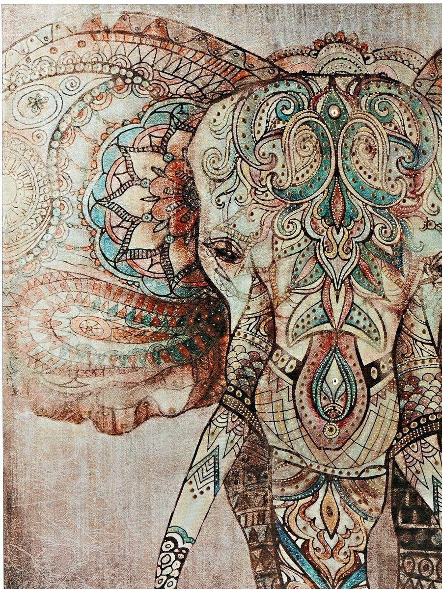 Heine Home Heine Home Kissenhulle Reissverschluss Online Kaufen Otto Home Bild Indische Elefanten Kunst Elefanten Tapete