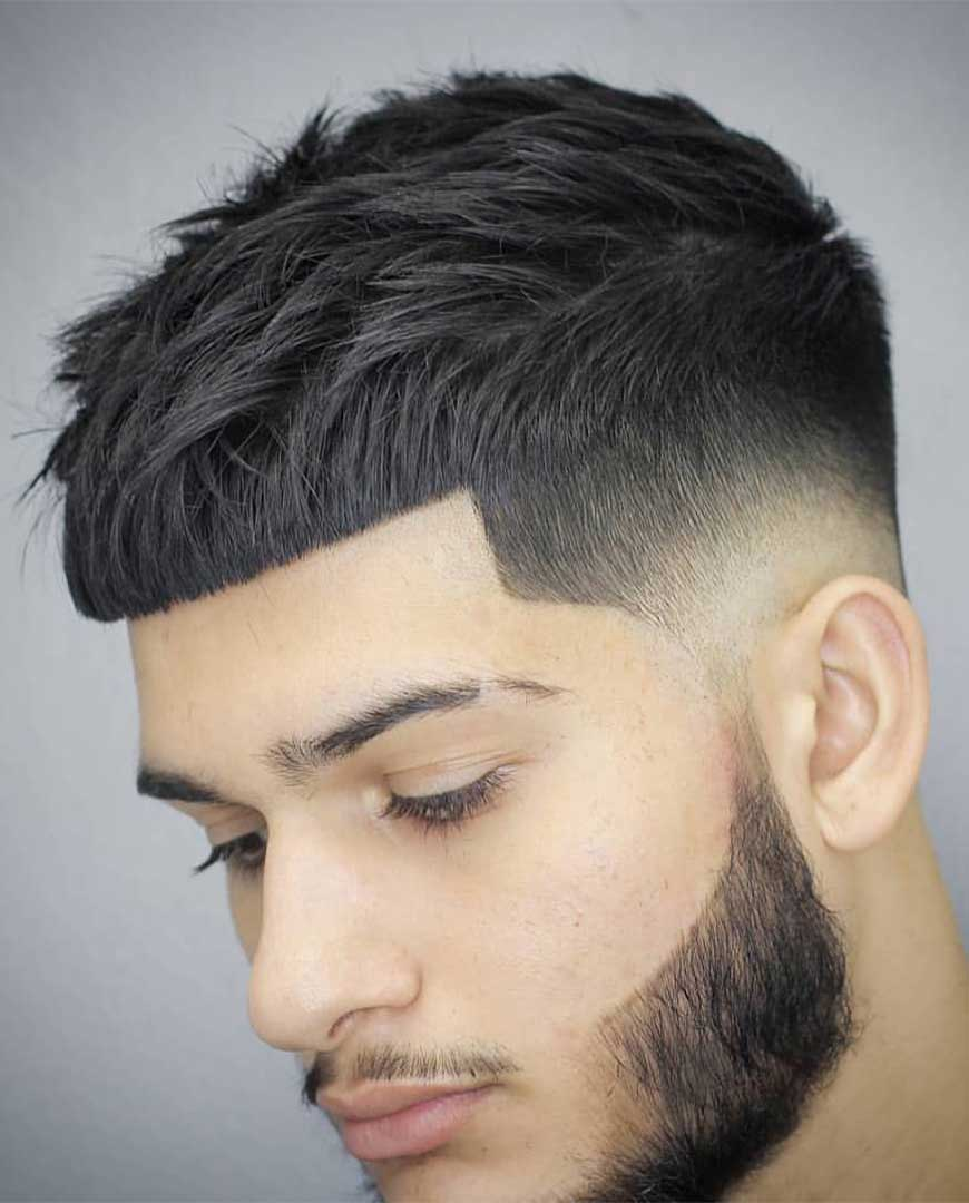 40 Best Crop Top Fade Haircuts For Men In 2021 Men S Hairstyle Tips Top Fade Haircut Fade Haircut Mens Haircuts Short
