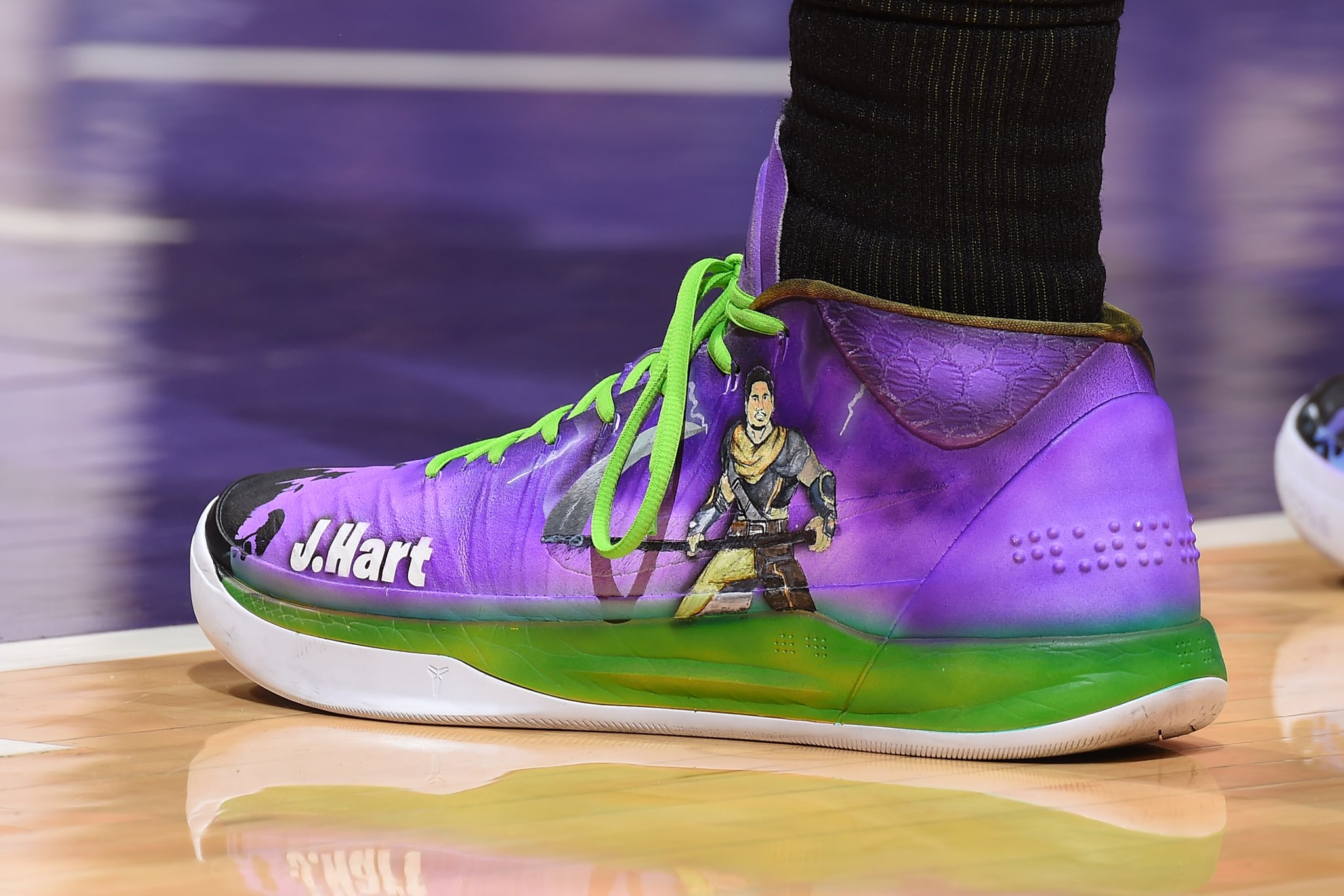 ec1553ec2dfa Fortnite custom Nike Kobe A.D. for  joshhart by  Kickstradomis  LakeShow