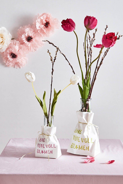 Wir Haben Eine Tute Voll Blumen Fur Dich Fruhling Spring