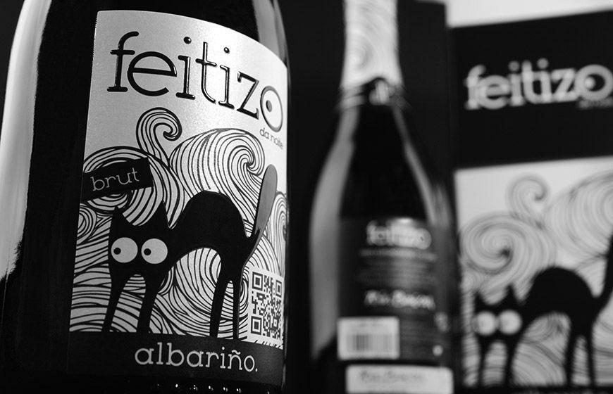 Bodegas Pablo Padín | Espumoso de Albariño Feitizo da Noite detalle #packaging