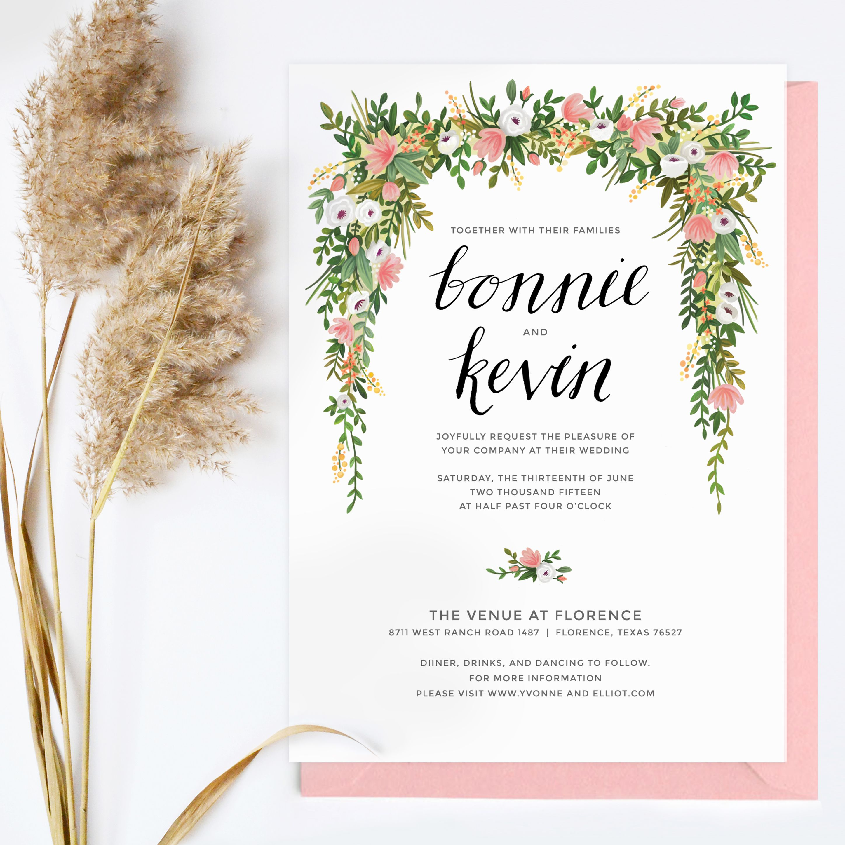 floral wedding invitations The top wedding invitation trends for including watercolor calligraphy floral foil and minimalist