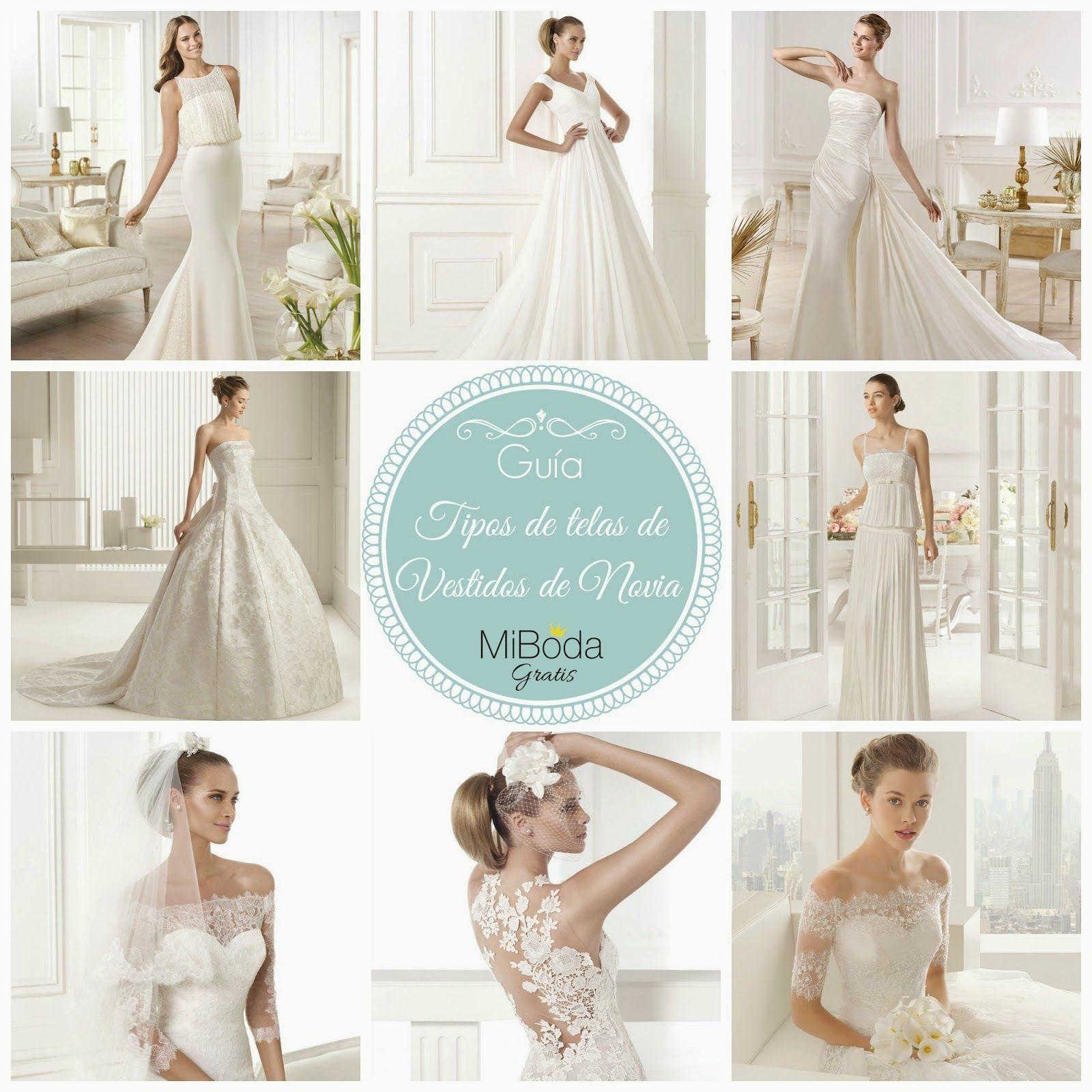 guia tipos de telas de vestidos de novia blog bodas mi boda gratis ...