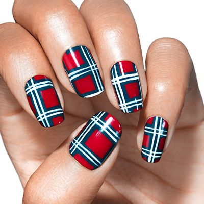 Playfully Plaid By Essie Your Marching Orders Strut Your Stuff In