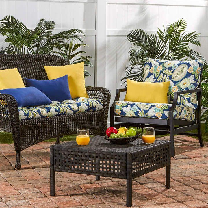 Asstd National Brand Outdoor Deep Seat Cushion Set Outdoor Deep Seat Cushions Deep Seat Cushions Deep Seating