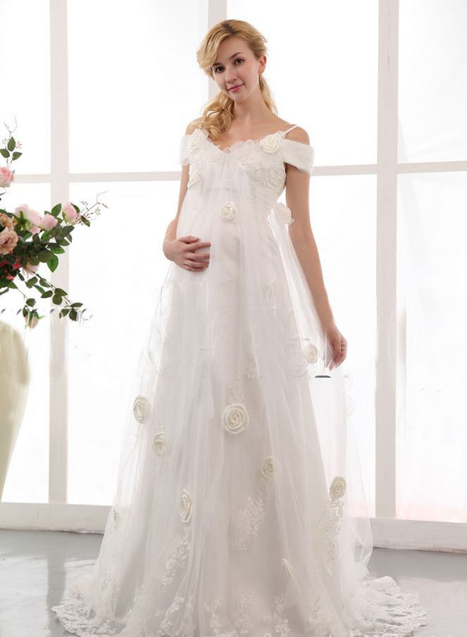 beautiful maternity wedding dresses | Maternity Bridal Gowns ...