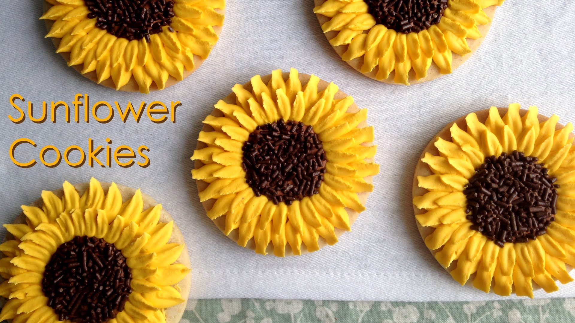 Cookie´s Girasoles! | Cookies | Pinterest | Kleingebäck