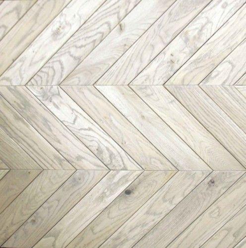Color Achieved By Bleaching And White Washing Flooring Herringbone Wood Floor Herringbone Floor