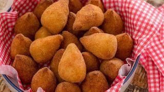 Rute Receitas: Coxinhas com Purê de Batatas