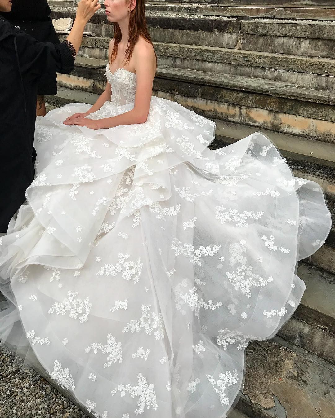Monique Lhuillier Bride On Instagram Finishing Touches