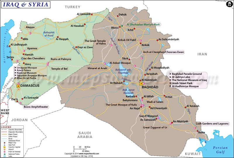 Map Syria Iraq Google Search Maps Pinterest Asia Map And Asia - Where is syria located on the map
