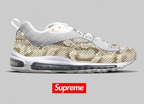 Supreme x Nike Air Max 98 'Snakeskin'