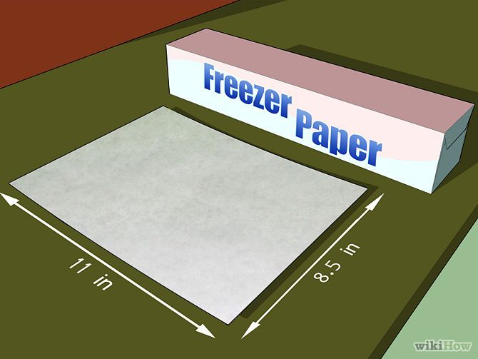 Freezer paper a seamstress friend girl inspired