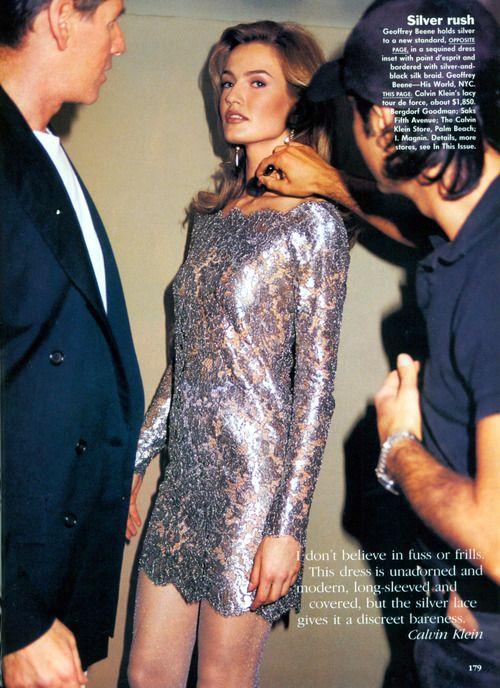 supermodels. One of my favs, Karen Mulder.