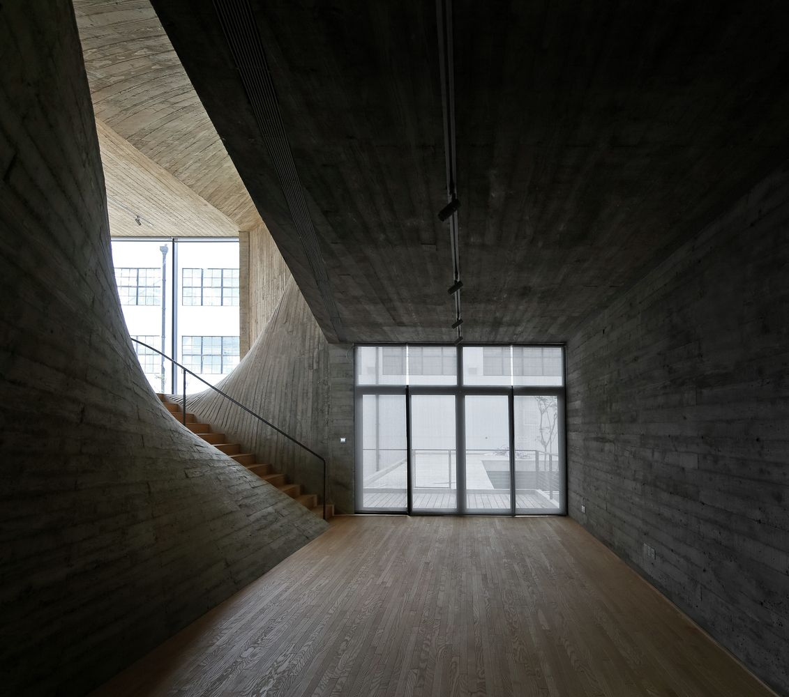 Gallery Of Fab Union Space On The West Bund Archi Union Architects 12 Space Architecture Concrete Architecture Architecture