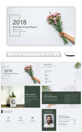 Fresh and elegant summary of PPT Download Pinterest Ppt - Summary Report Template