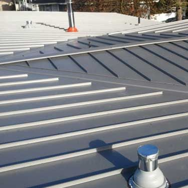 Consolidated Gutter And Sheet Metal Contractor Page Sheet Metal Metal Roof Gutter
