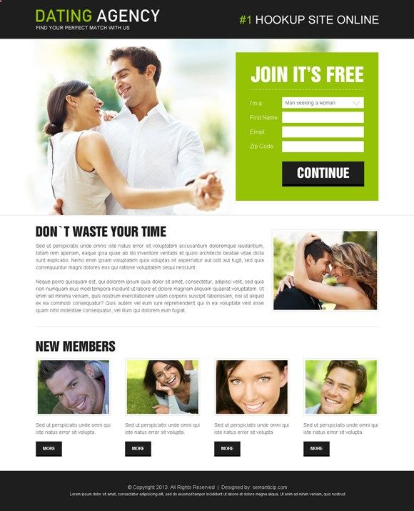 Dating professional site web