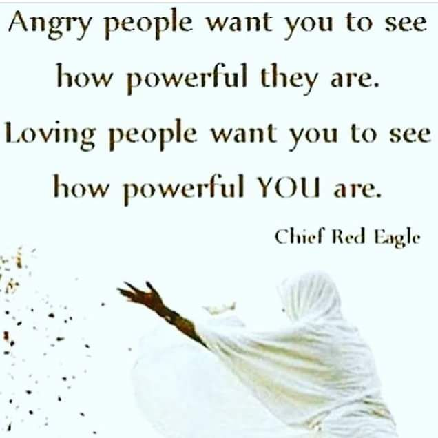 Chief Red Eagle Words To Live By