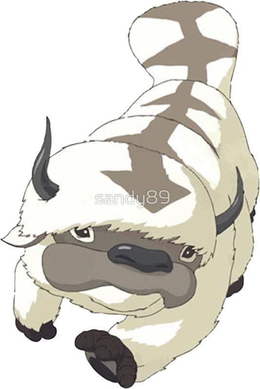 APPA SKY BISON Japanese Anime Flying The Last Airbender Avatar
