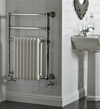 These Heated Towel Rails Can Be Sourced Through Splash Bathroom Radiators Traditional Towel Radiator Towel Radiator