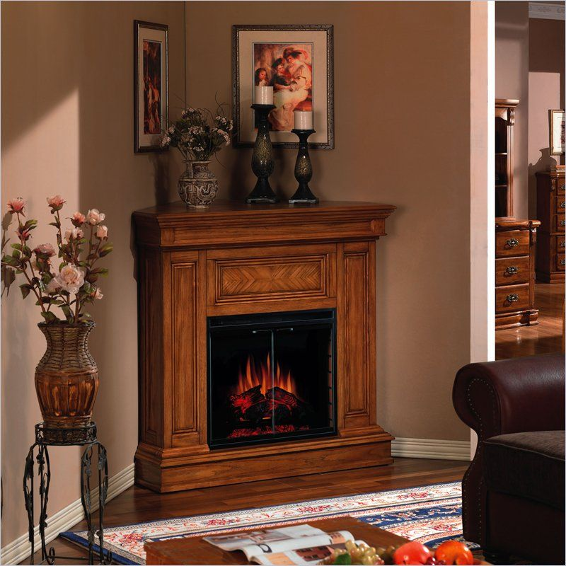A Corner Electric Fireplace Is Suitable For Small Rooms Corner Electric Fireplace Fireplace Decor Corner Fireplace