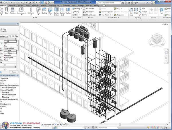 autodesk revit mep tutorial 2016