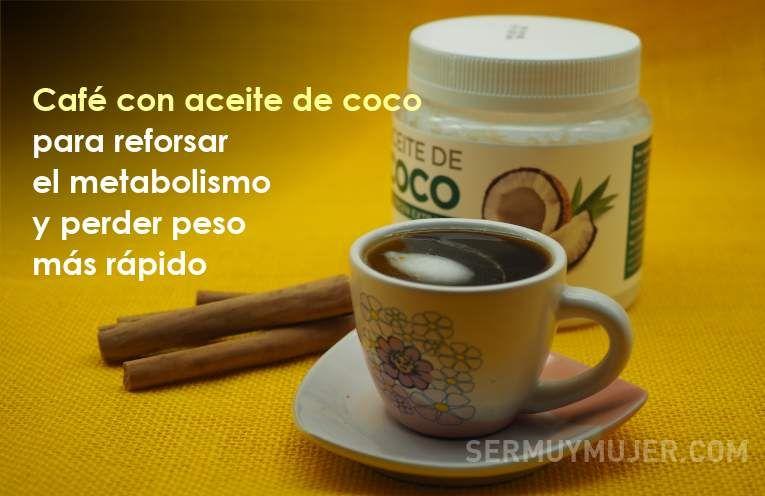 Cafe Con Aceite De Coco Para Reforsar El Metabolismo Y Perder Peso Mas Rapido Glassware Tableware Mugs