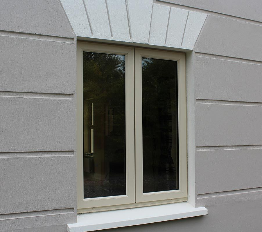 French Pvc Window In Cream With Very Attractive And Modern Sleek Profile French Cottage French Windows French Cottage Garden