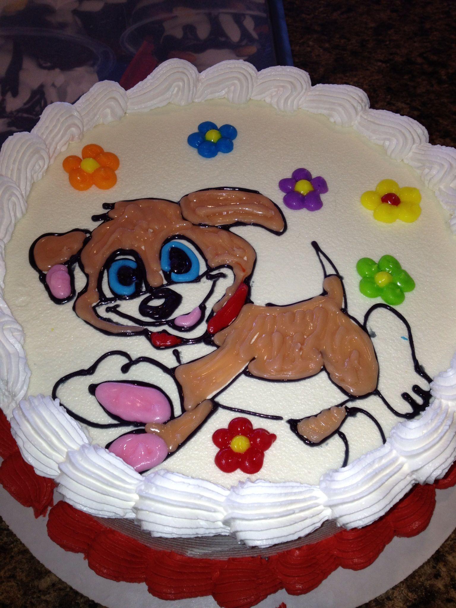 Dq Cakes Dairy Queen Cutest Little Puppy Ice Cream Cake