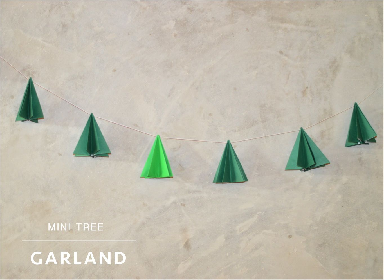A simple Christmas DIY: Tree garland