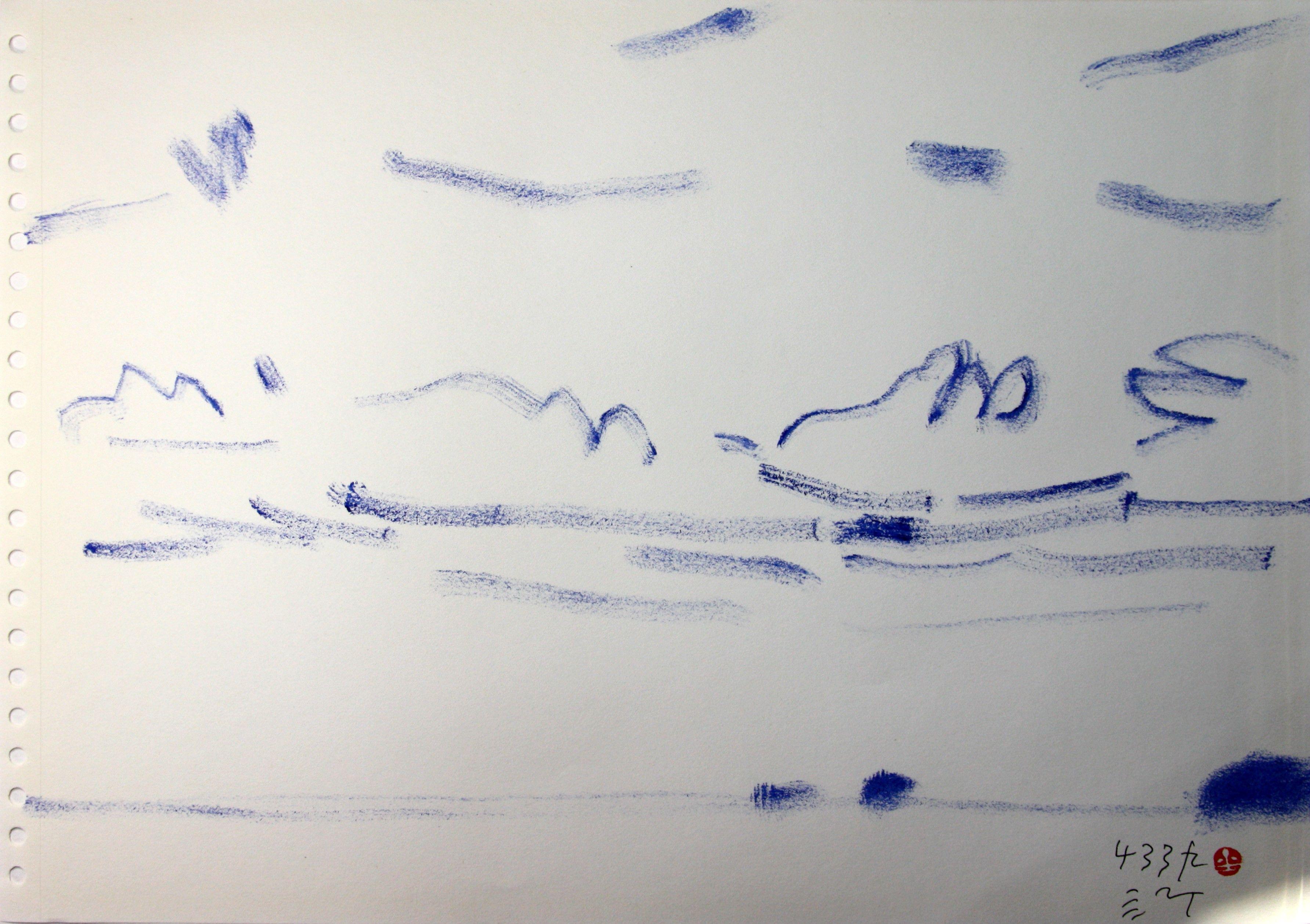 https://www.facebook.com/sahong.gum Gum-Sahong Drawing, JEJU,Landscape 금사홍, 드로잉