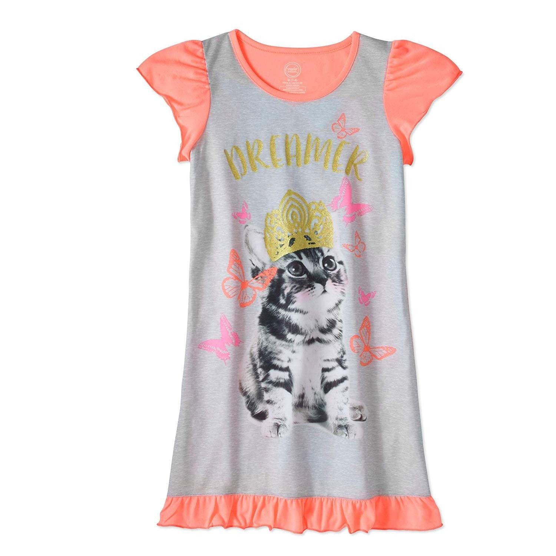 Girls Nightgown Pajamas Sleepwear Sleep Gown Night Todders Little Girl Dance