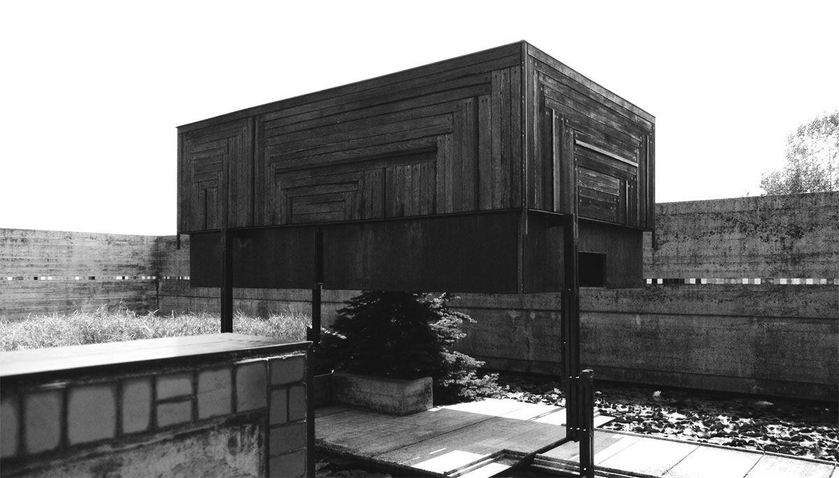 Carlo scarpa 06 timber panelling legs brion cemetery - Carlo scarpa architecture and design ...