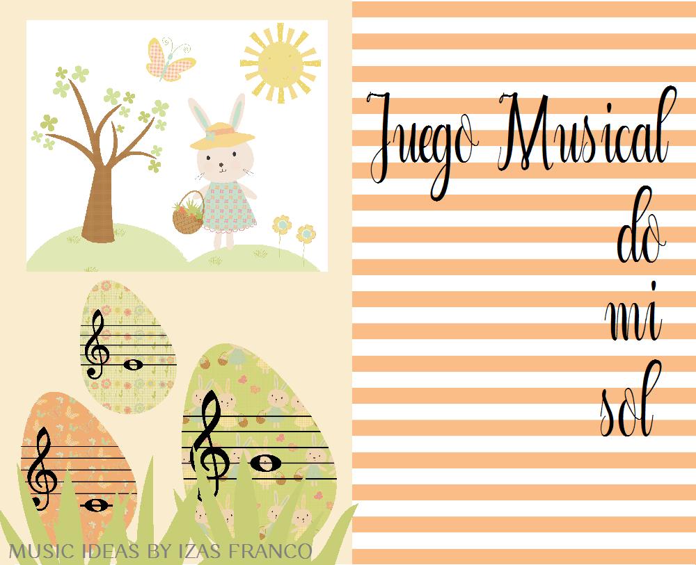Juego Musical Infantil Con Los Sonidos Do Mi Sol Para Aprender La Ubicación De Los Tres Sonidos En El Pentagrama Juegos Musicales Cuentos Musicales Musical