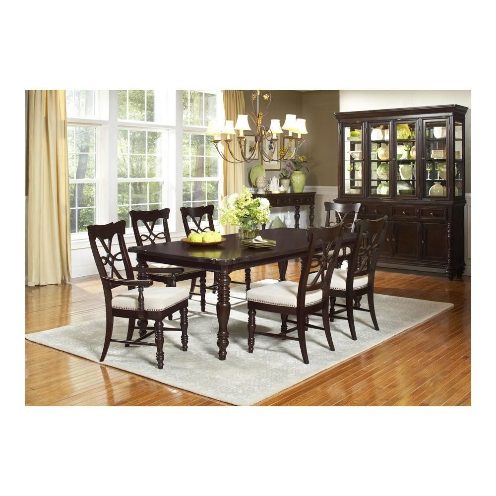 Fox Run 8 Pc Dining Set In Chocolate  Largo  Largowgd2370 Beauteous 8 Piece Dining Room Set Inspiration