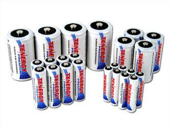 Combo 24pcs Tenergy Premium Nimh Rechargeable Batteries 8aa 8aaa 4c 4d Nimh Coors Light Beer Can Household Batteries