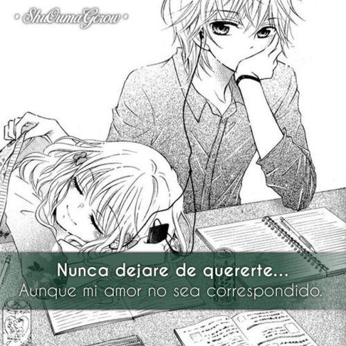 Anime Frases Frases Anime Sentimientos Shuoumagcrow Amor Amortina