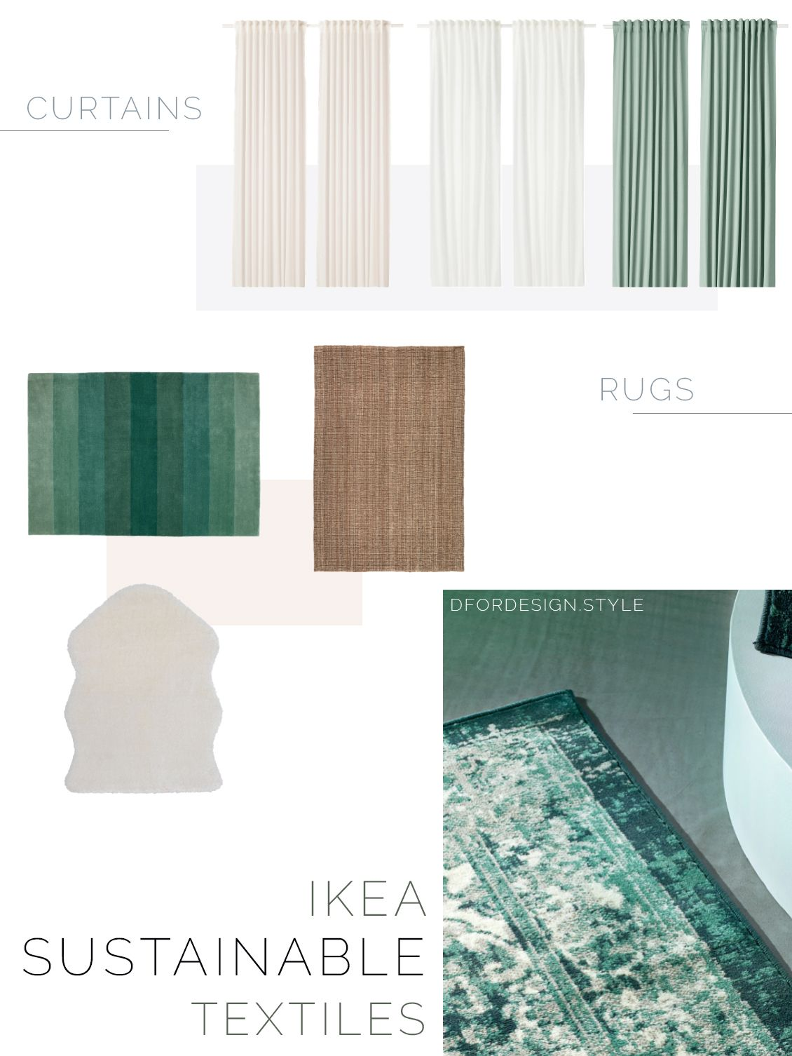 Sustainable Textile Inspiration From Ikea 2020 Catalogue